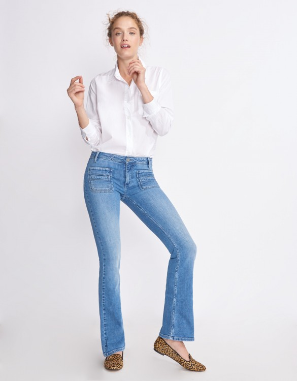 Flare jean Phil - DENIM B-63