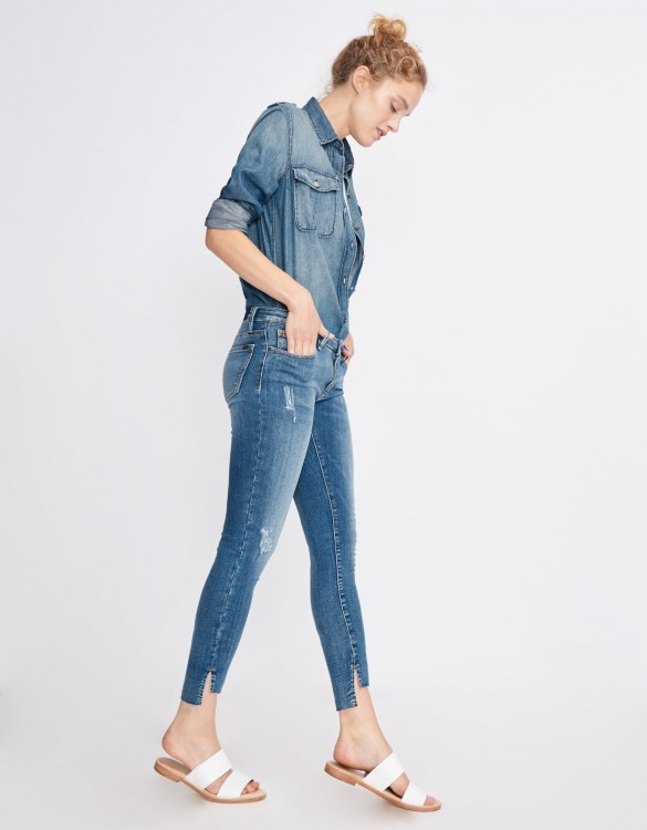 Skinny cropped jean Loren - DENIM M-51