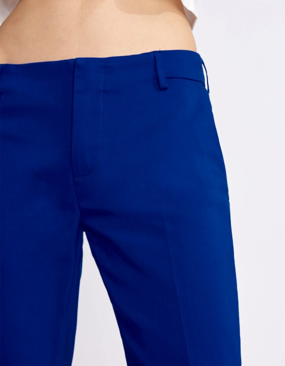 Cigarette Trousers Lizzy Color - ROYAL BLUE