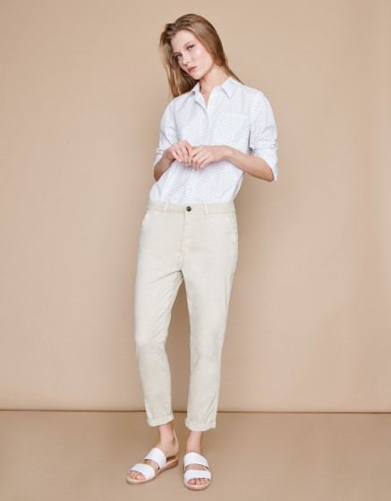 Pantalon chino Scott - CREAM