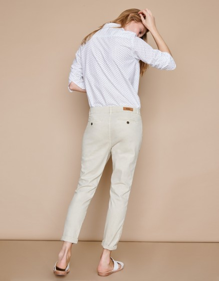 Chino Trousers Scott - CREAM