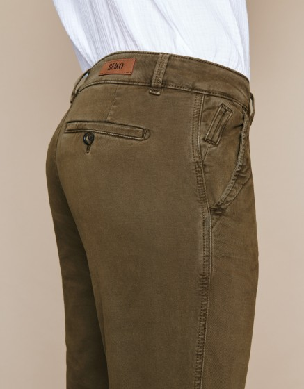 Chino Trousers Scott - VINTAGE KAKI