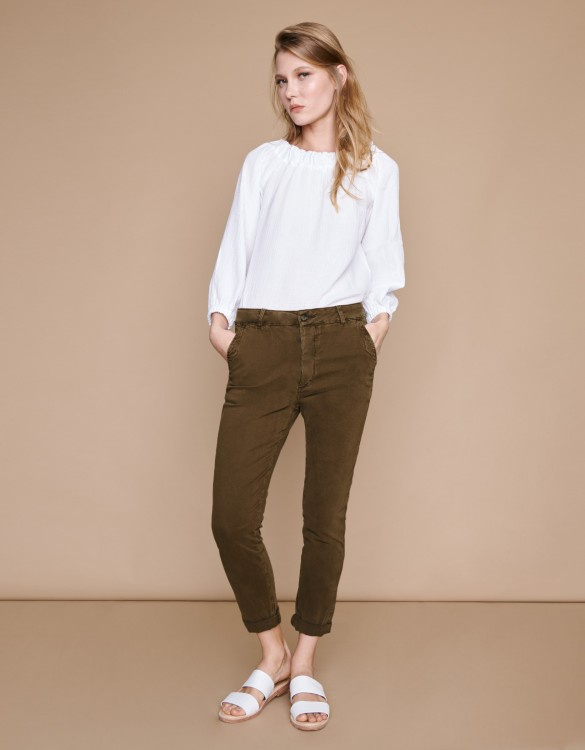 Chino Trousers Scott - VINTAGE KAKI