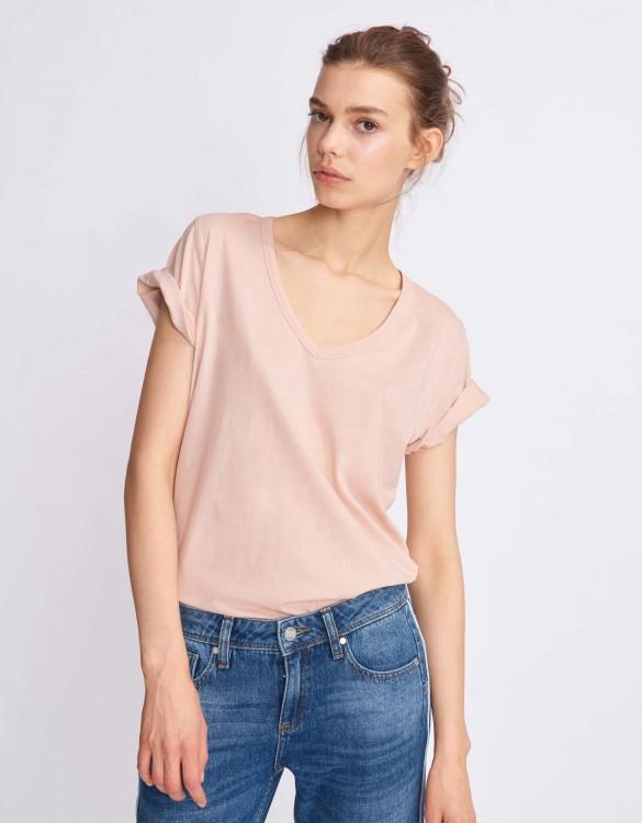 T-shirt Tim - SMOKY PINK