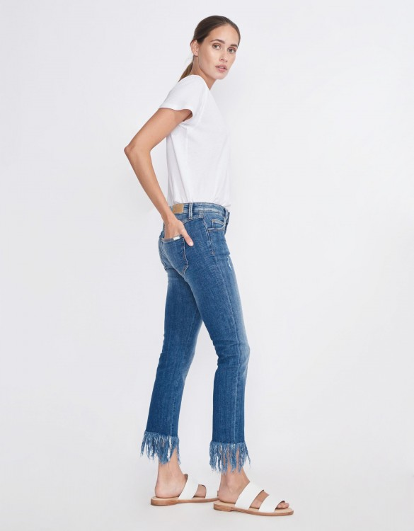 Slim cropped jean Perry - DENIM M-60