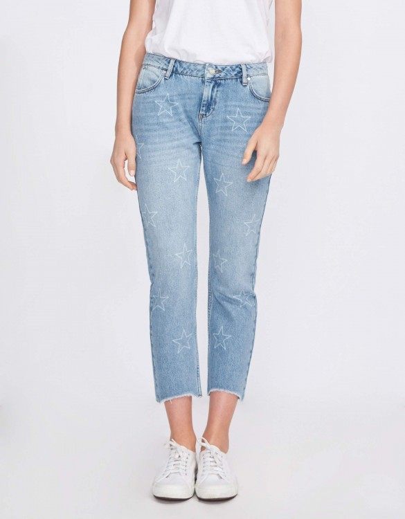 Boxy cropped Victor - DENIM STARS
