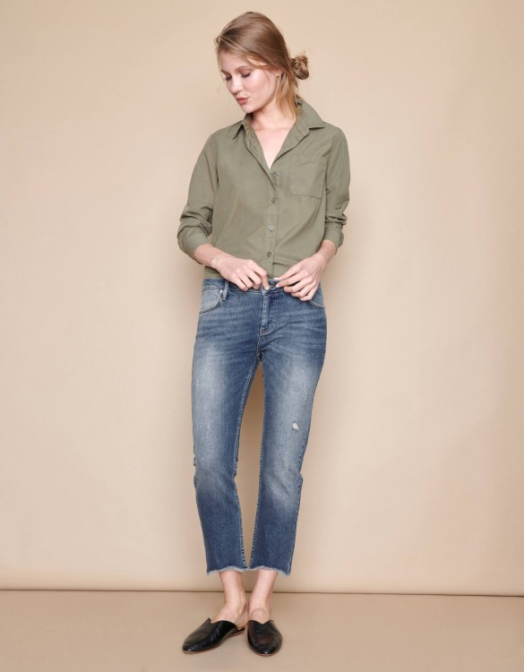 Jean boxy cropped Victor - DNM V-30