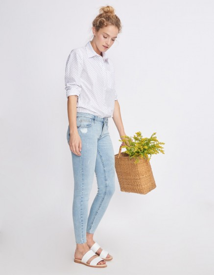 Jean skinny cropped Lily - DENIM V-32