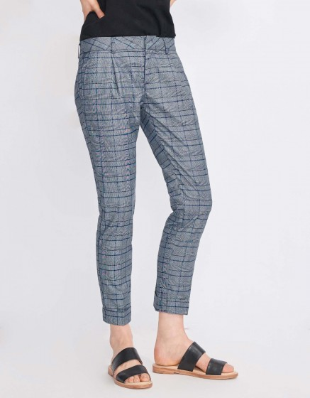 Cigarette Trousers Larson Fancy - GALIS