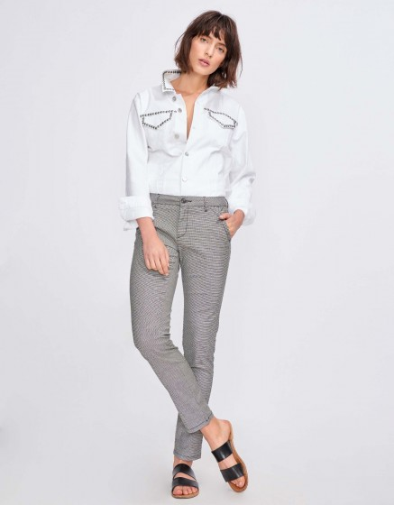 Chino Trousers Sandy Fancy - DUKE