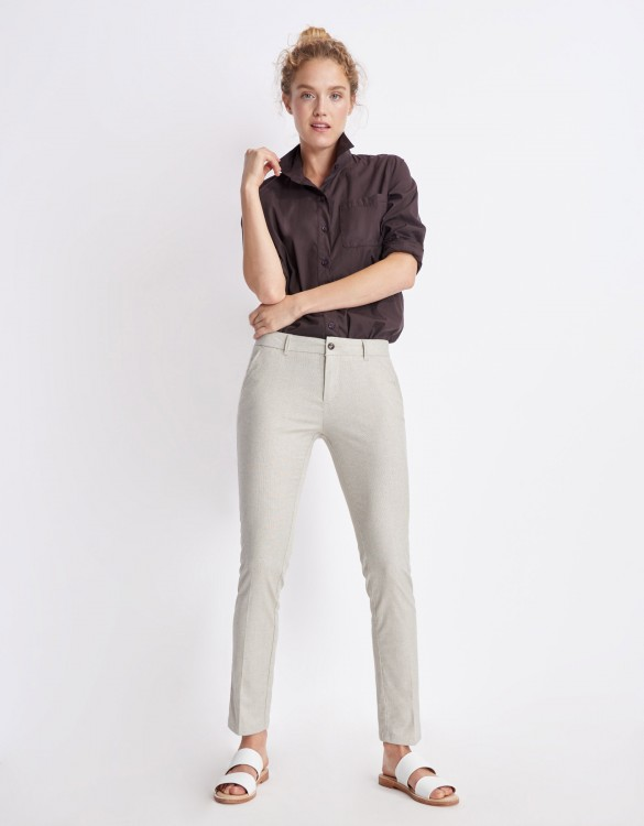 Chino Trousers Sandy Fancy - SQUALL