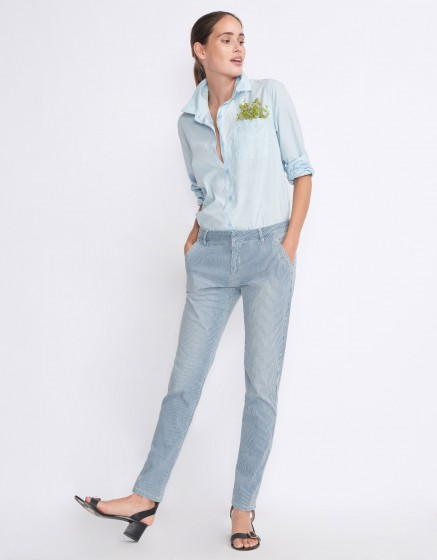 Chino Trousers Sandy 2 Stripes - UNIQUE