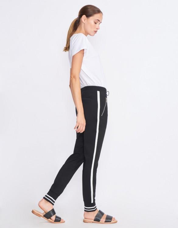 Street trousers Elis - BLACK