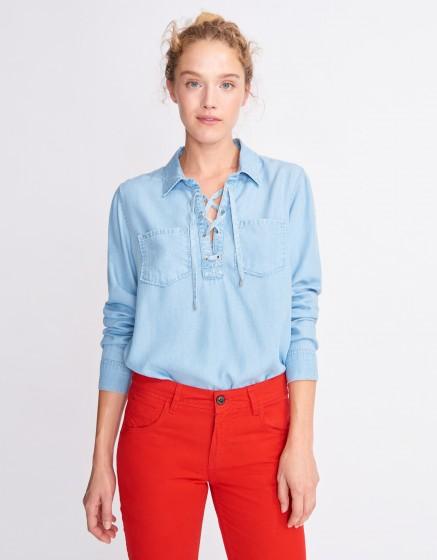 Denim shirt Caty - LIGHT BLUE