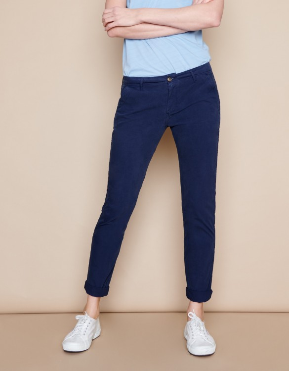 Pantalon chino Pam - DARK NAVY