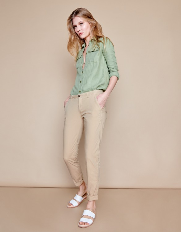 Chino trousers Pam - BEIGE