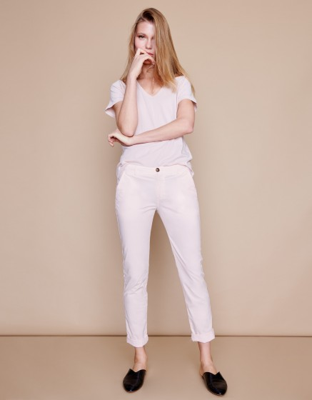 Pantalon chino Pam - ROSE PALE