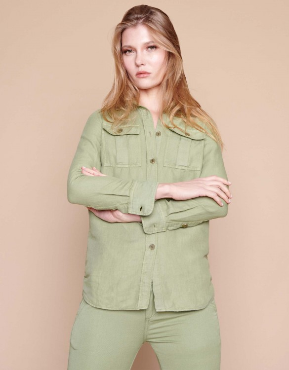 Chemise Côme - MILITARY GREEN