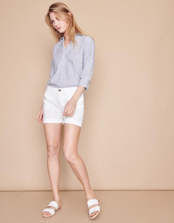 Bermuda Stacy Color - WHITE