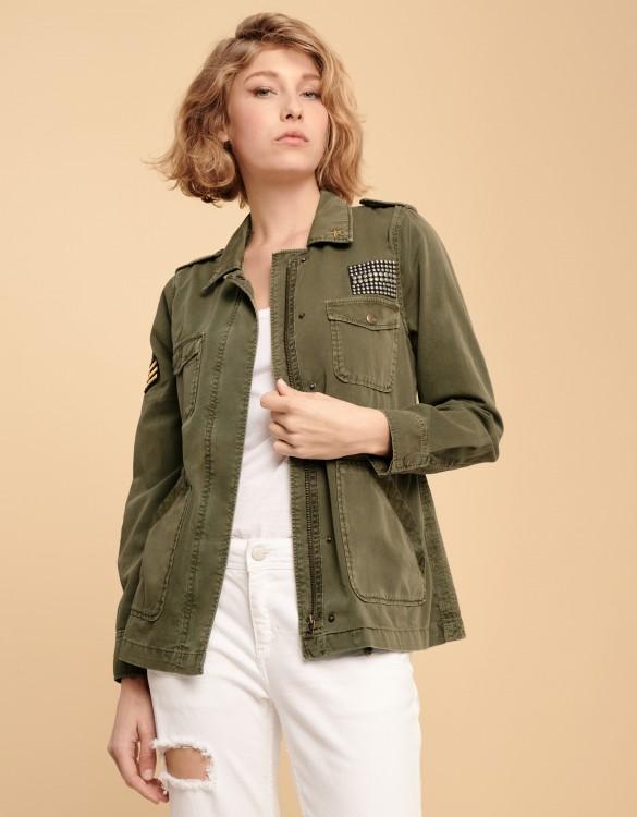 Major Patch jacket - KAKI