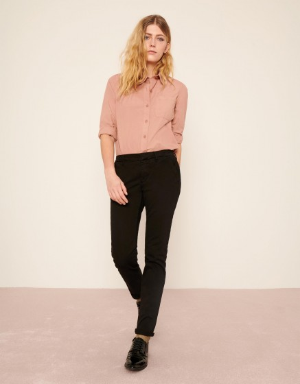 Pantalon chino Sandy 2 Basic - BLACK