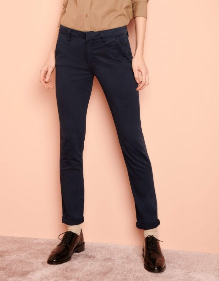 Pantalon chino Sandy 2 Basic - DARK NAVY