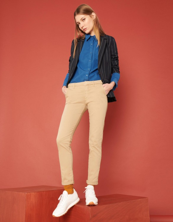 Chino Trousers Sandy 2 Basic - BEIGE