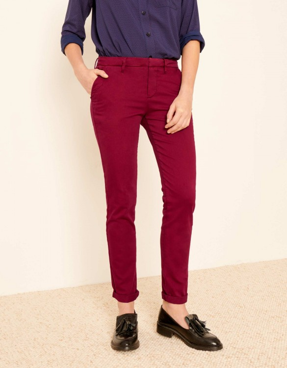 Pantalon chino Sandy 2 Basic - GROSEILLE