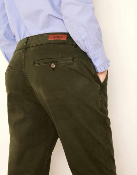Pantalon chino tapered Scott - VERT DE CHROME