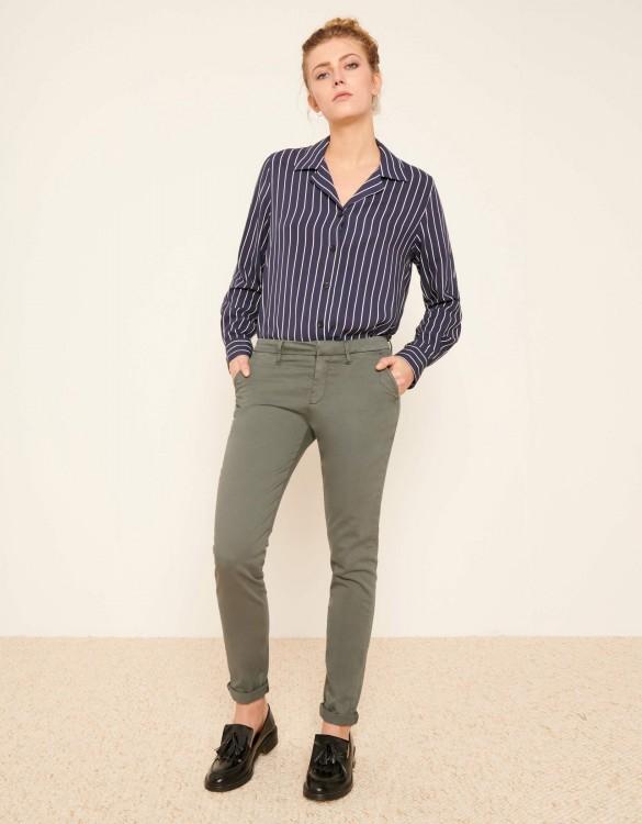 Chino Trousers Sandy 2 Basic - VERT ACIER