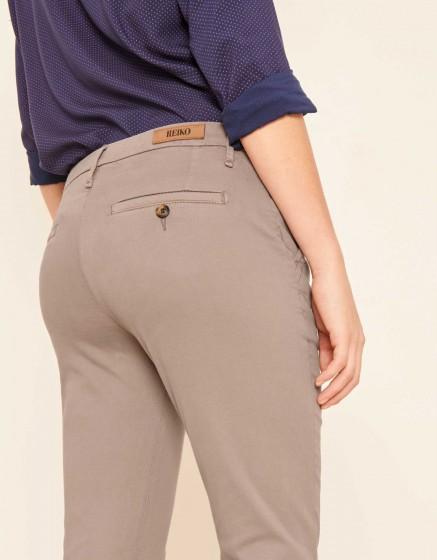 Pantalon chino Sandy 2 Basic - TAUPE