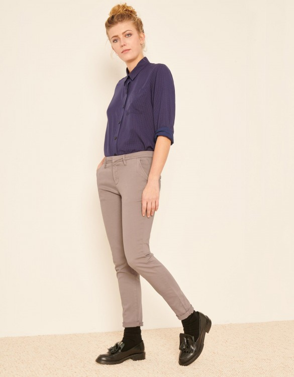 Pantalon chino Sandy 2 Basic - TAUPE