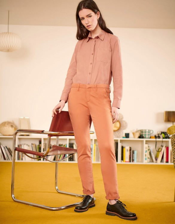 Pantalon chino Sandy 2 Basic - SALMON