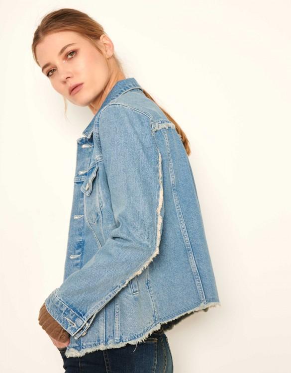 Jean jacket Val - LIGHT BLUE