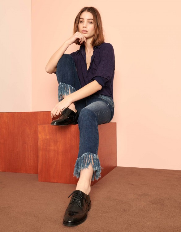 Straight cropped jean Perry - DNM V-52