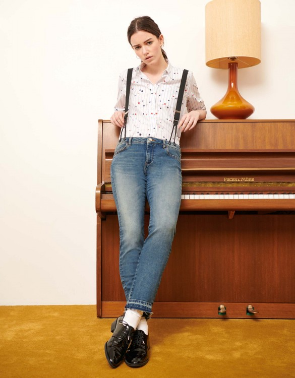 Straight cropped jean Alexis M-72 - DNM M-72