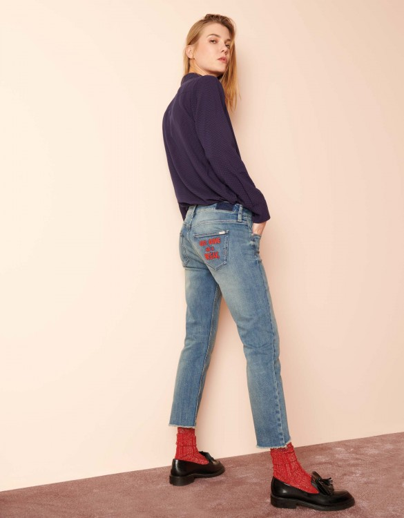 Straight cropped jean Vince Tag - DNM V-51
