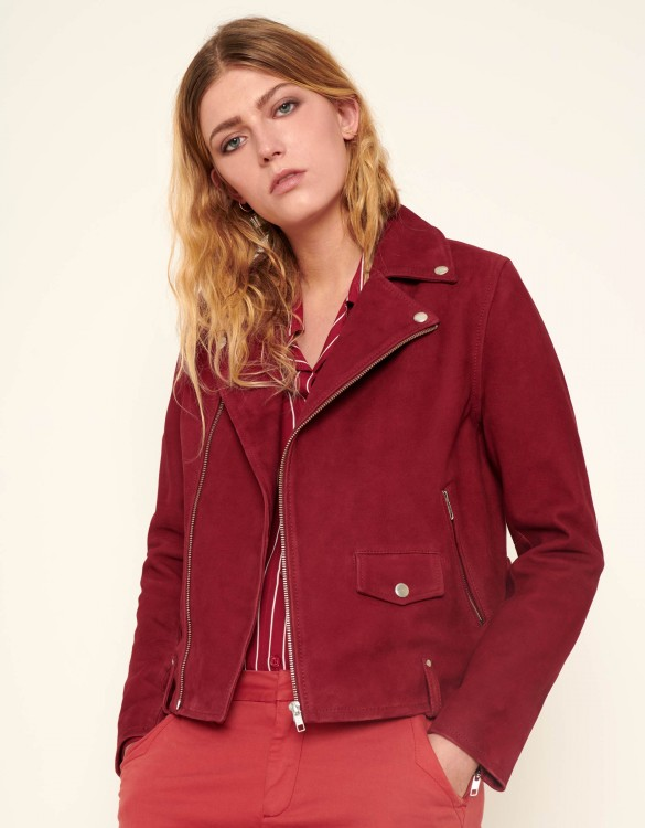Perfecto jacket Pacey - GROSEILLE