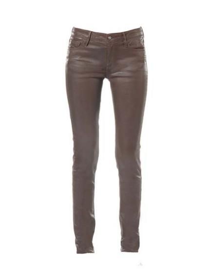 Skinny aspect cuir