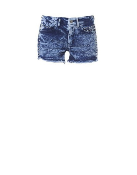 short denim studs