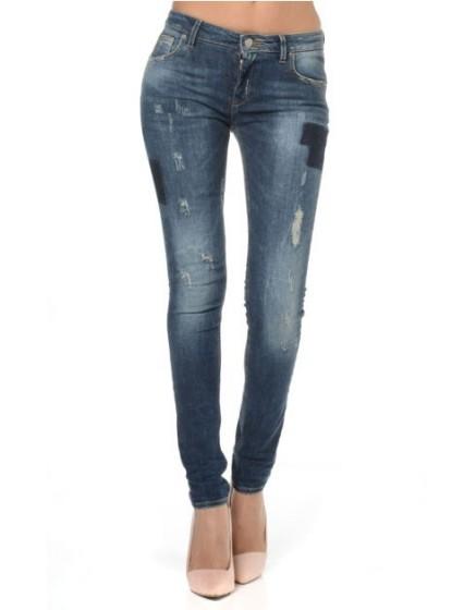 Reiko skinny jeans details poche