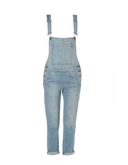 Reiko salopette en jeans