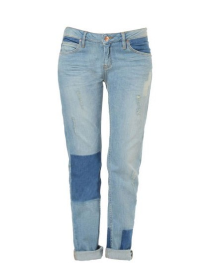 Reiko boyfriend jeans - DENIM PATCH