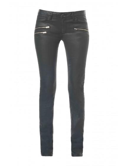 REIKO Ella Was coated skinny trousers