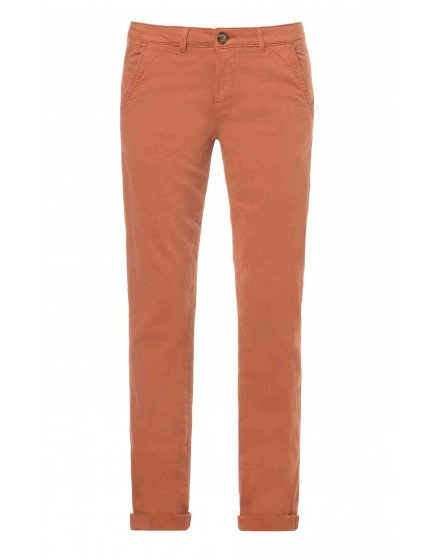 REIKO Sandy Chino Trousers - CUIVRE
