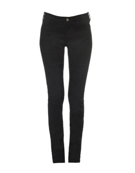 REIKO Tero color slim Trousers - black