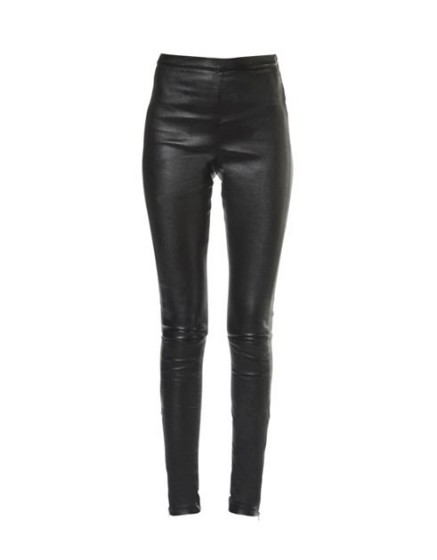 REIKO Naya Zip Leather Legging