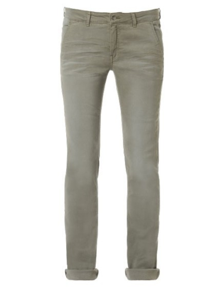 REIKO Lindsay dyed tapered Trousers - kaki