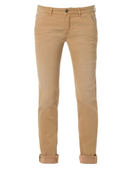 REIKO Lindsay dyed tapered Trousers - noisette