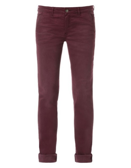 REIKO Lindsay dyed tapered Trousers - prune